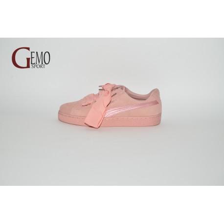 Puma Suede Heart EP, ružová dámska vychádzková obuv