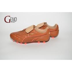 Puma King Top M.I.I Nat.FG brown-red blast 303546b6490