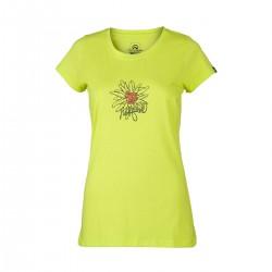 Northfinder Dámske outdoorové tričko s kvetom MILAN