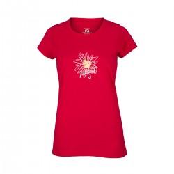 Northfinder Dámske outdoorové tričko s kvetom SIMONE