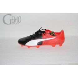 Puma evoSPEED SL II FG  Black-White-Red