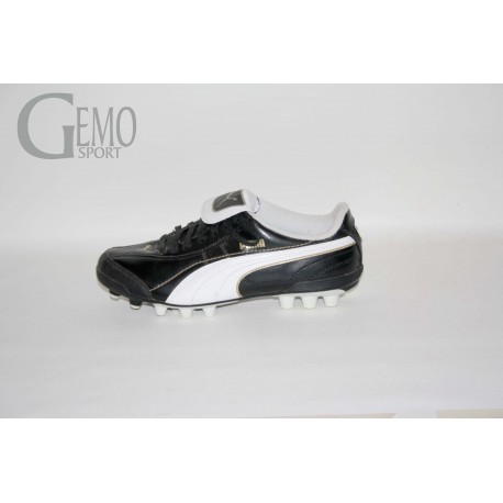 Puma ESITO XL HG JR  black-white-team gold